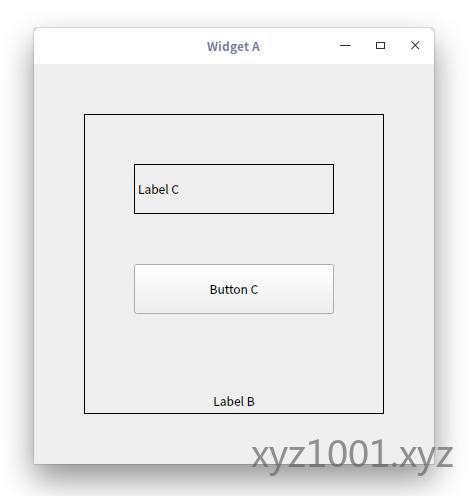 示例程序窗口